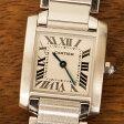 【10/23までポイント3倍】カルティエ Cartier タンクフランセーズ 腕時計 中古