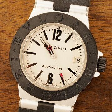 ブルガリBVLGARIアルミニウム腕時計中古