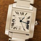 【ポイント3倍】カルティエ Cartier タンクフランセーズ 腕時計 中古