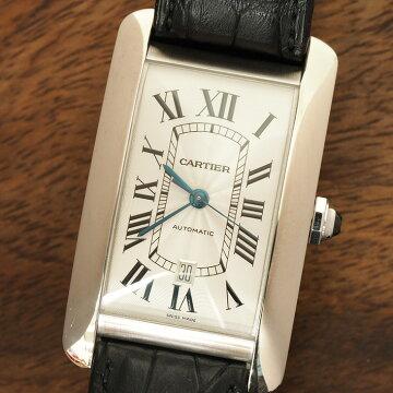 Cartierカルティエタンクアメリカン腕時計中古