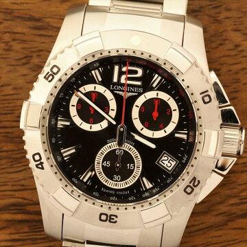 LONGINESロンジンハイドロコンクエストクロノグラフ腕時計中古