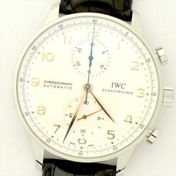 IWCポルトギーゼクロノ腕時計中古