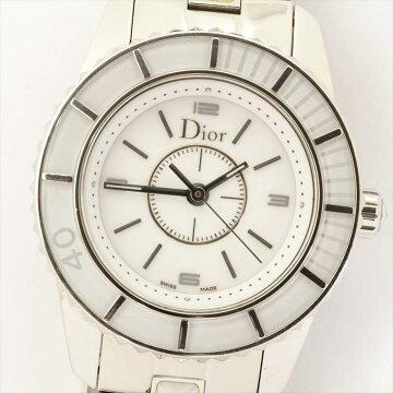 【ポイント3倍】ChristianDiorクリスタルCHRISTAL腕時計中古