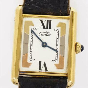 【11/06までポイント3倍】Cartierカルティエマストタンクヴェルメイユ1615【中古】
