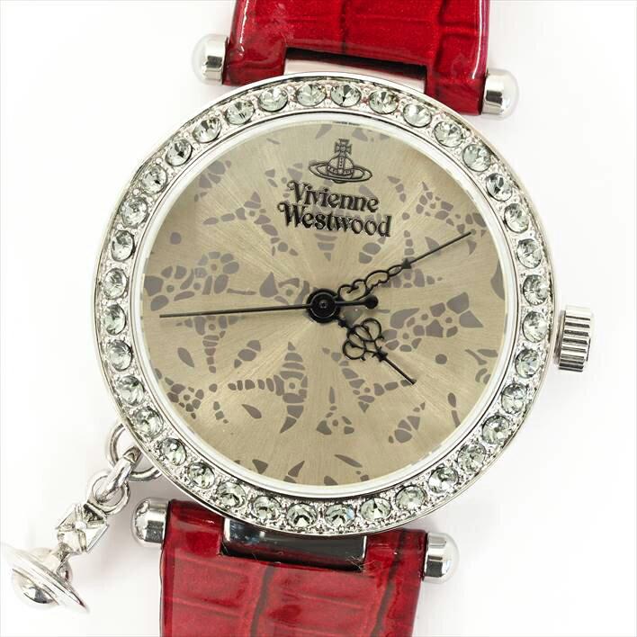 【ほぼ新品】Vivienne Westwood ヴィヴィアン・ウエストウッド  VV006SLRD【】 ヴィヴィアン・ウエストウッド  ブランド時計 used ユーズド VV006SLRD 電池式【送料無料】期間限定キャンペーン