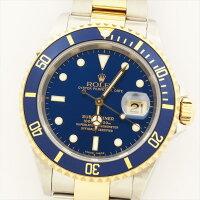 【オーバーホール・新品仕上げ済み】ROLEX ロレックス サブマリーナ 16613 Y919150(2002年製造) 【中古】 腕時計