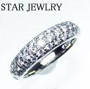 ショッピングSTAR スタージュエリー パヴェダイヤリング ダイヤ0.55ct WG 3.7g STAR JEWELRY 新品仕上げ済【中古】