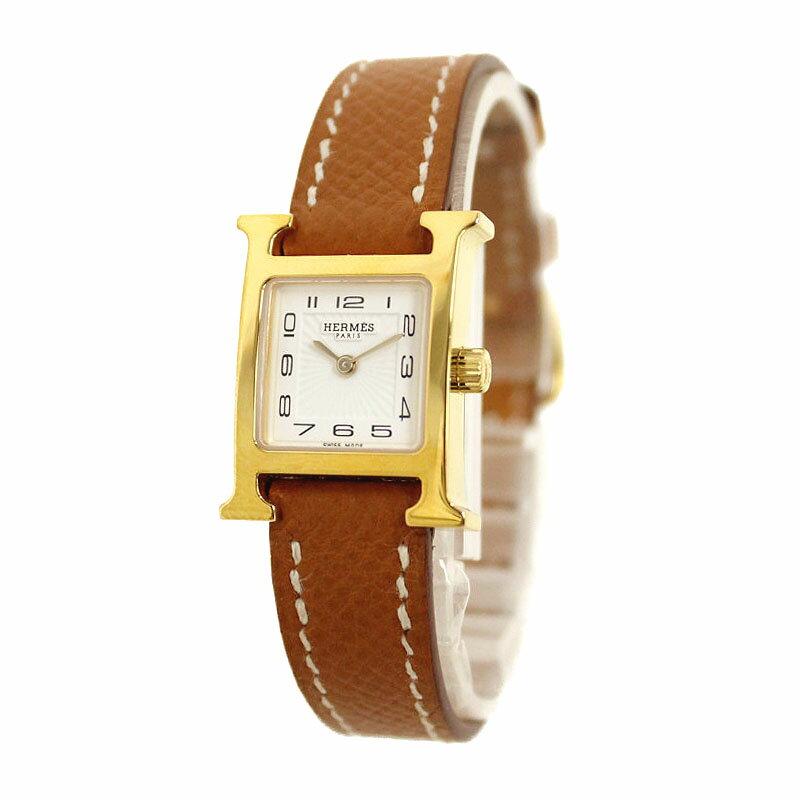 エルメス Hウォッチ ミニ TPM 腕時計 エプソン ゴールド A刻印 HH1.101【未使用 展示品】