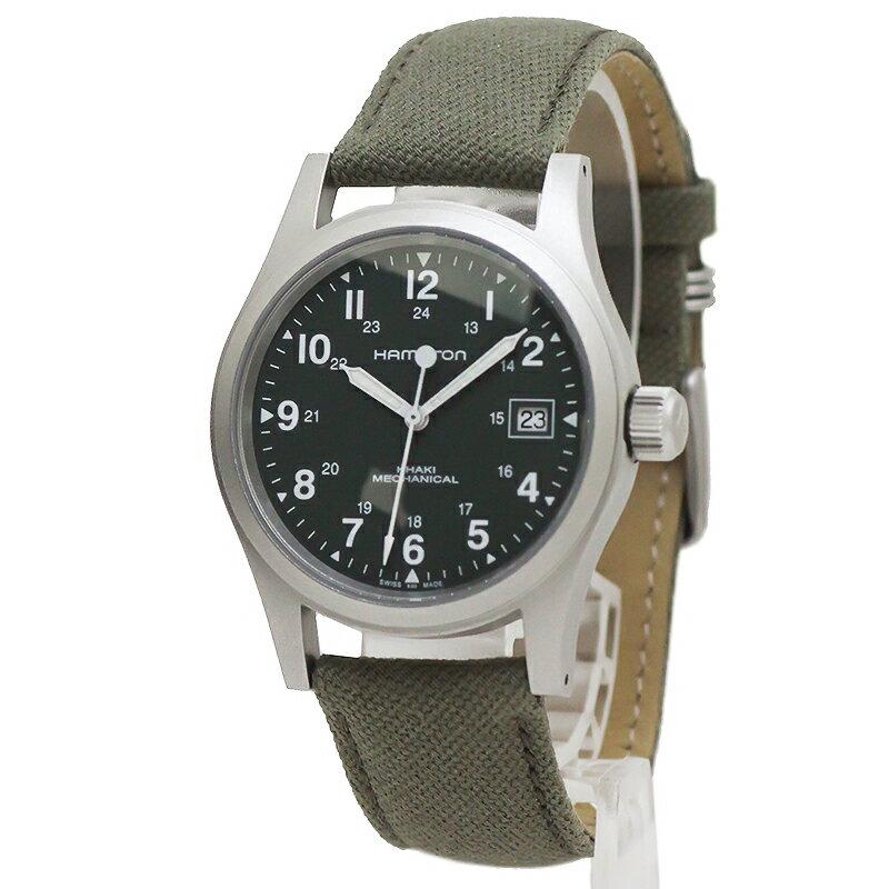 ハミルトン カーキ フィールド メカニカル オフィサー 腕時計 手巻き H69419363【新品・未使用品】 丸い