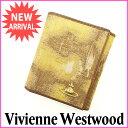 樂天商城 - ヴィヴィアン・ウエストウッド Vivienne Westwood Wホック財布 メンズ可 オーブ ブラウン×ベージュ キャンバス×レザー 【中古】 E665 .