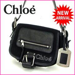 Chloe【クロエ】 ショルダーバッグ キャンバス レディース