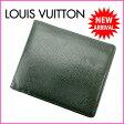 ルイヴィトン Louis Vuitton 二つ折り財布 メンズ可 /ポルト・ビエ カルト クレディ タイガ M30464 エピセア PVC×レザー (あす楽対応)人気 激安(参考定価39900円)【中古】 J4952