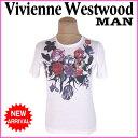 樂天商城 - ヴィヴィアンウエストウッド マン Vivienne Westwood MAN Tシャツ 半袖 カットソー メンズ ♯Mサイズ フラワープリント ホワイト系 C/100% (あす楽対応) 美品 人気 【中古】 J5560 .
