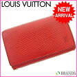 ルイヴィトン Louis Vuitton L字ファスナー財布 エピ レッド  【中古】 M474 ★