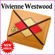 ヴィヴィアン・ウエストウッド Vivienne Westwood Wホック財布 メンズ可 ライトブラウン レザー (あす楽対応)激安 人気【中古】 E713