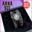 アナスイ ANNA SUI 腕時計 レディース ブラック×ピンク (あす楽対応)美品 セール【中古】 G656