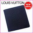 ルイヴィトン Louis Vuitton 二つ折り札入れ コンパクトサイズ メンズ可 ポルトビエ6カルトクレディ エピ ノワール(ブラック) エピレザー (あす楽対応)セール 良品(参考定価43050円)【中古】 J7671