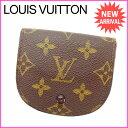 ルイヴィトン Louis Vuitton コインケース 小銭入れ メンズ可 ポルトモネグセ モノグラム M61970 ブラウン モノグラムキャンバス (あす楽対応) (参考定価40950円)【中古】