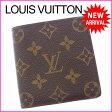 ルイヴィトン Louis Vuitton 二つ折り札入れ コンパクトサイズ メンズ可 ポルトビエ6カルトクレディ モノグラム ブラウン モノグラムキャンバス (あす楽対応)激安 セール(参考定価35700円)【中古】 I228