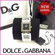 ドルチェ&ガッバーナ DOLCE&GABBANA 腕時計 メンズ可 シルバー (あす楽対応)新品 未使用品【中古】 J7346