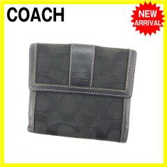 COACH【コーチ】 二つ折り財布(小銭入れあり)  レディース