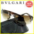 ブルガリ BVLGARI サングラス メンズ可 626 104/13 ブラウン×ベージュ×ブラック×シルバー プラスティック (あす楽対応)良品 人気【中古】 Q222