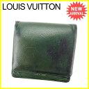 【中古】 ルイヴィトン Louis Vuitton 二つ折り...