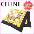 セリーヌ CELINE スカーフ レディース 100%シルク (あす楽対応) 人気 【中古】 J6450