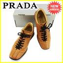 プラダ PRADA スニーカー #39 2/1 シューズ 靴...