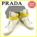 プラダ PRADA スニーカー 37 1/2 レディース 3...