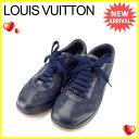 【中古】 ルイヴィトン Louis Vuitton スニーカ...