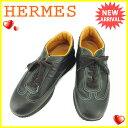 【中古】 エルメス HERMES スニーカー #38 レディ...