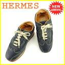 【中古】 エルメス HERMES スニーカー 靴 シューズ ...