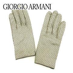 GIORGIO ARMANI【ジョルジオアルマーニ】 グローブ レザー レディース