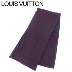 LOUIS VUITTON【ルイ・ヴィトン】 スカーフ コットン/カシミア ユニセックス