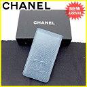 シャネル CHANEL iPhoneケース モバイルケース メンズ可 ココマーク ブルー×ネイビー ...