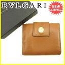 ブルガリ BVLGARI Wホック財布 二つ折り財布 メンズ...