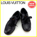 ルイヴィトン Louis Vuitton スニーカー シューズ 靴 レディース ♯35ハーフ ロゴ ...