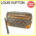 ルイ ヴィトン Louis Vuitton セカンドバッグ クラッチバッグ マルリードラゴンヌGM モノグラム ブラウン モノグラムキャンバ...