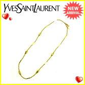 イヴサンローラン Yves Saint Laurent ネックレス アクセサリー レディース ゴールド 人気 【中古】 J14205