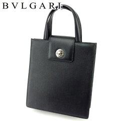 BVLGARI【ブルガリ】 トートバッグ レザー ユニセックス