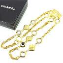 【中古】 シャネル Chanel ネックレス アクセサリー ゴールド レディース Y4418s .