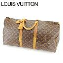 【中古】 ルイ ヴィトン Louis Vuitton ボストンバッグ バック トラベルバッグ バック キーポル60 モノグラム レディース Y1690s .
