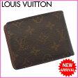 (激安・即納) ルイヴィトン Louis Vuitton 二つ折り札入れ メンズ可ポルトフォイユミュルティプル モノグラム ブラウン PVC×レザー 【中古】(参考定価43050円) E395