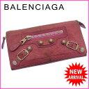 【中古】 【送料無料】 バレンシアガ BALENCIAGA 長財布 ファスナー 二つ折り レディース