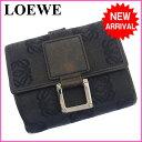 【送料無料】 ロエベ LOEWE Wホック財布二つ折り財布メ...