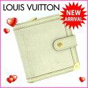 ルイヴィトン Louis Vuitton 二つ折り財布 /二...