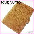 ルイヴィトン Louis Vuitton 手帳カバー エピ フューチャーピンク 【中古】 M34
