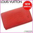 ルイヴィトン Louis Vuitton L字ファスナー財布 エピ レッド 【中古】 M474