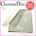 【送料無料】 クリスチャンディオール Christian Dior ネックレス シルバー (あす楽対応) 人気 良品【中古】 M1196